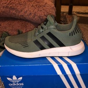 Adidas swift run athletic shoe